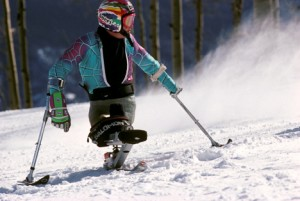 Disable Skier